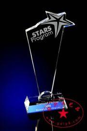 国际艺术展览会纪念品  国际和平大使奖  维和战士奖 水晶奖杯奖牌