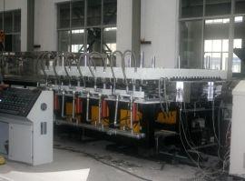 PVC发泡建筑模板生产线