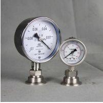 不锈钢卡箍隔膜压力表系列-耐震压力表|不锈钢压力表|真空压力表|电接点压力表|隔膜压力表