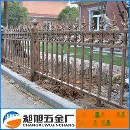 苏州厂家直销铝合金护栏庭院围栏花园别墅栅栏003