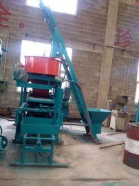 供应天津建丰小型水泥砖机JF-QT3-30 非洲热销小型水泥空心砖机