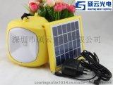 廠家銷售高亮新款太陽能野營燈 太陽能露營燈 太陽能手提燈
