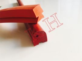 厂家供应密封条硅胶耐高温V型海绵门窗发泡电器机柜