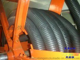 PP / PE / PVC / EVA / PA波纹管生产线