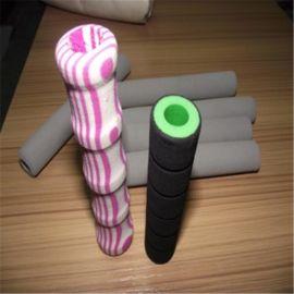 厂家促销批发NBR橡胶发泡管 橡塑手把套 握力器橡塑手把套