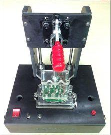 双面下针的PCBA功能测试治具结构 10年以上治具经验工程师设计 结构合理 手感好