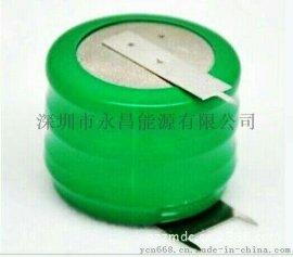 3.6V镍氢扣式充电电池NI-MH250MAH环保扣式电池