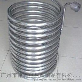 广州翰运供应四方形酸性溶液高温换热热不锈钢热交换器