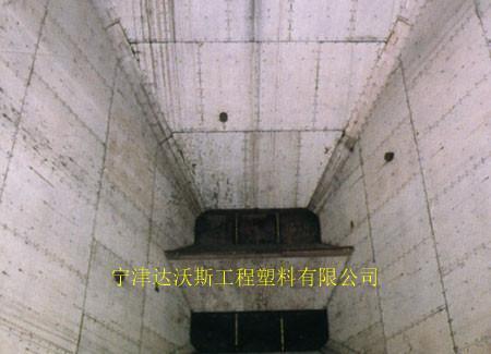 达沃斯供应山西煤仓耐磨聚乙烯衬板