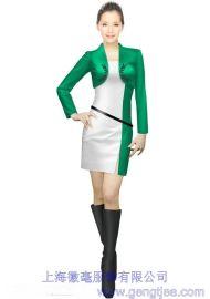 2016新款车展模特促销服 商场促销服 饮料促销员服装