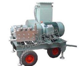 洗车高压泵是如何产生高压的