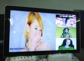 46寸壁挂广告机 47寸广告播放机网络远程播放显示器,LED高清液晶显示器广告标示牌咖啡网络广告机