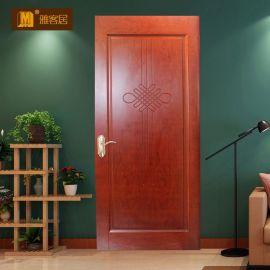 实木烤漆门,复合门,定制门,工程木门代理,木门加盟,湖北雅客居
