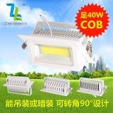 Zenlea珍領 ZL-FL1040-A2 LED40W+COB投射燈