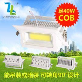 Zenlea珍领 ZL-FL1040-A2 LED40W+COB投射灯