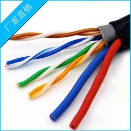 直销室外监控网络线带电源线 8芯网络电源一体线 百米千