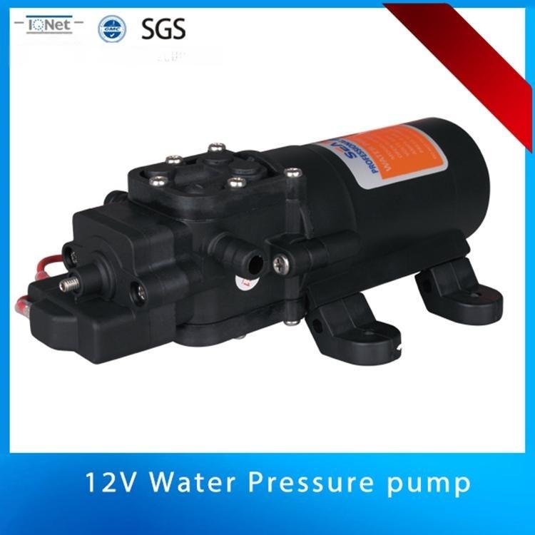 供应12V/24V微型高压房车游艇RV专用淡水隔膜泵