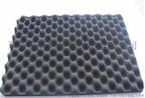 高密度無粉塵阻燃吸音板雞蛋棉 5cm厚 防火波峯吸音海綿 廠家批發