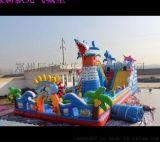 广场儿童充气蹦蹦床 大型充气城堡价格