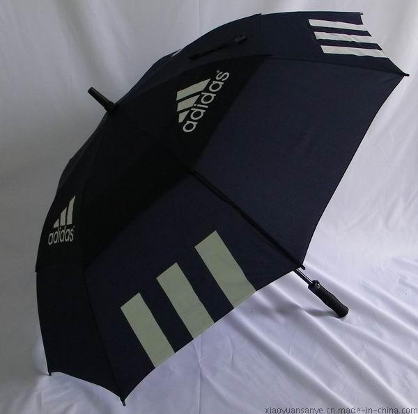 定製雙層高爾夫傘、定做印刷企業禮品傘