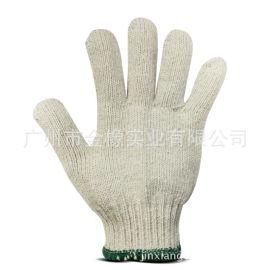 厂家直销加密棉纱耐磨劳保防护手套便宜纱线沙手套劳保线800g手套