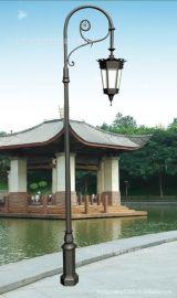 3米户外压铸铝庭院灯led户外防水欧式仿古庭院灯别墅小区路灯