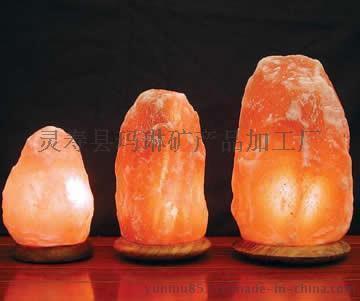 供應水晶鹽燈,自然型鹽燈,聚寶盆鹽燈