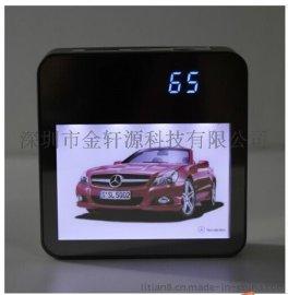 魔方LED灯箱移动电源 LED立体灯箱广告机多功能充电宝