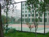 【勾花網】 籃球場【圍網】【PVC包塑勾花網】--安平志成信金屬絲網廠