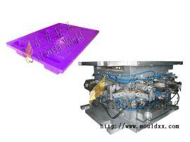 网格托盘模具,注射九脚托盘模具,1.5米网格托盘塑胶模具