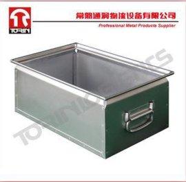 镀锌零件桶(L400*W300mm)/锌板箱/储物箱/周转箱