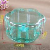 【生产厂家】PS塑料 花形手提盒化妆盒收纳盒 品质保证