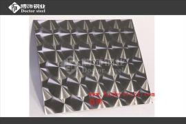 博饰钢业201镜面鱼鳞纹不锈钢板厂价直销