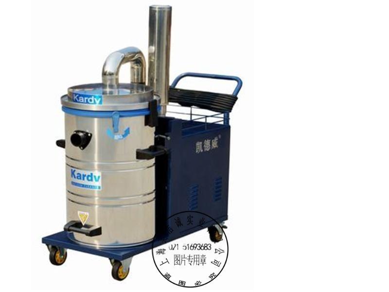 凱德威DL2280工業吸塵器380V吸鐵屑吸塵器