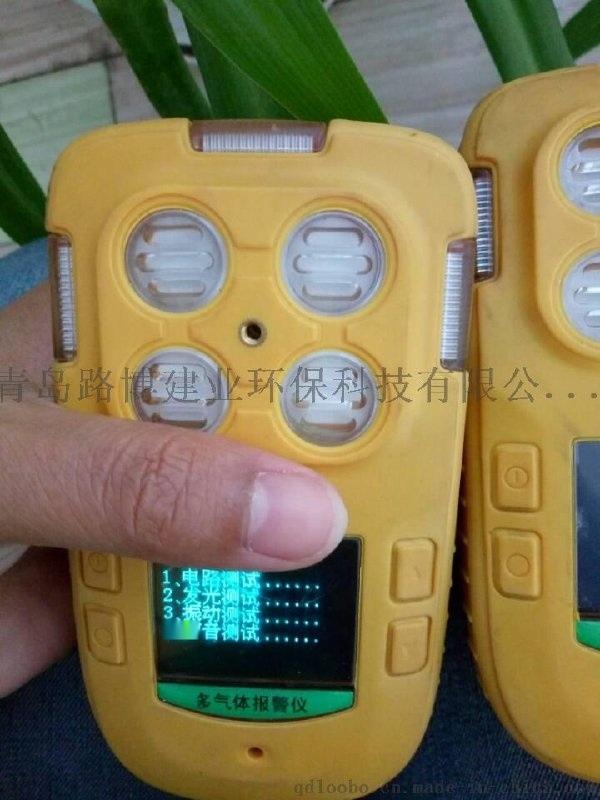 声、光、振动三重报警青便携式多气体检测报警仪