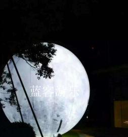 山西彩绘充气月球热**10米超大充气气球