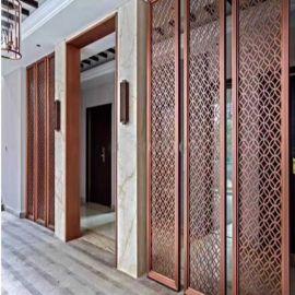 環保型材鋁合金窗花 安裝快捷 珠海鋁窗花定制