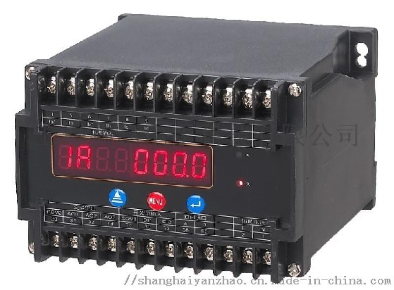 上海燕趙LED顯示三相電流、電壓、頻率變送器