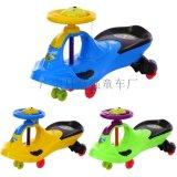童車兒童扭扭車帶音樂靜音輪1-3歲寶寶手推滑行車搖擺童車溜溜車