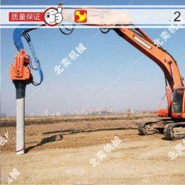 挖掘机振动锤、液压打桩锤、振动锤、液压振动锤、打拔桩机