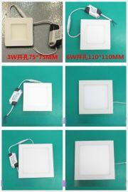LED筒灯 方形筒灯刀片散热器 20W照明筒灯 黑色私人定制工程商照