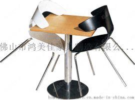 时尚餐桌椅,美食城休闲餐桌椅广东鸿美佳厂家供应