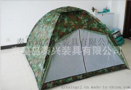 专业生产供应防水迷彩野营帳篷双人双层自动帳篷 可定制