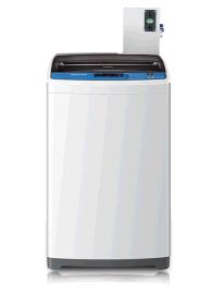 海尔原装正品智能商用波轮无线支付微信手机APP支付投币洗衣机6公斤学校一卡通刷卡洗衣机