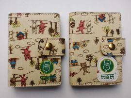 女士信用卡包 透明卡夹 上海工厂专业订做FL411信用卡包 超薄