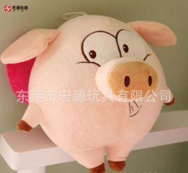 定制动漫周边西游记孙悟空猪八戒公仔 儿童创意猪玩偶毛绒玩具