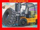 正品400-8叉车专用实心轮胎实心轮胎厂家