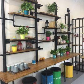 上海凯隆直销展示架 水管置物架 酒吧货架 衣架书架美式新款