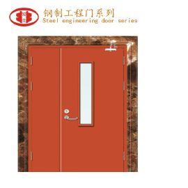 钢制学校门 钢板复合门 工厂钢板门