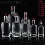 生产白酒玻璃瓶 威士忌酒瓶 外贸酒瓶